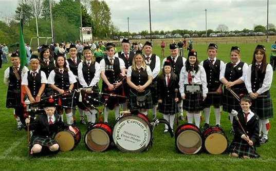 The Thomas Kent Pipe Band